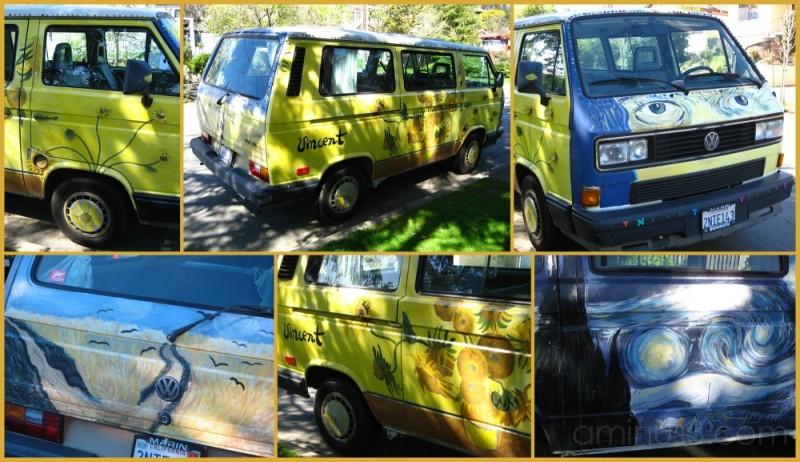 Van Gogh Van in San Anselmo