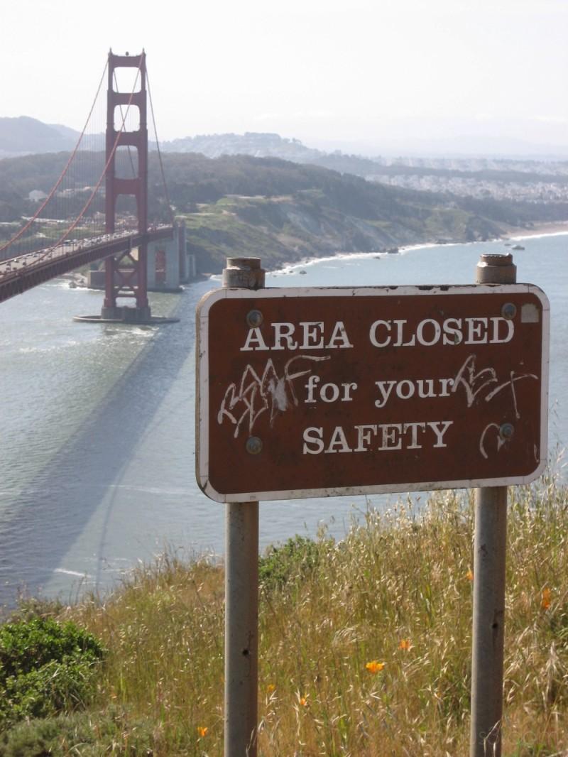 Golden Gate Bridge as viewed from Marin Headlines