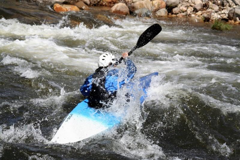 Kayaking the Kern River