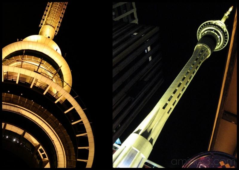 Sky Tower at Night