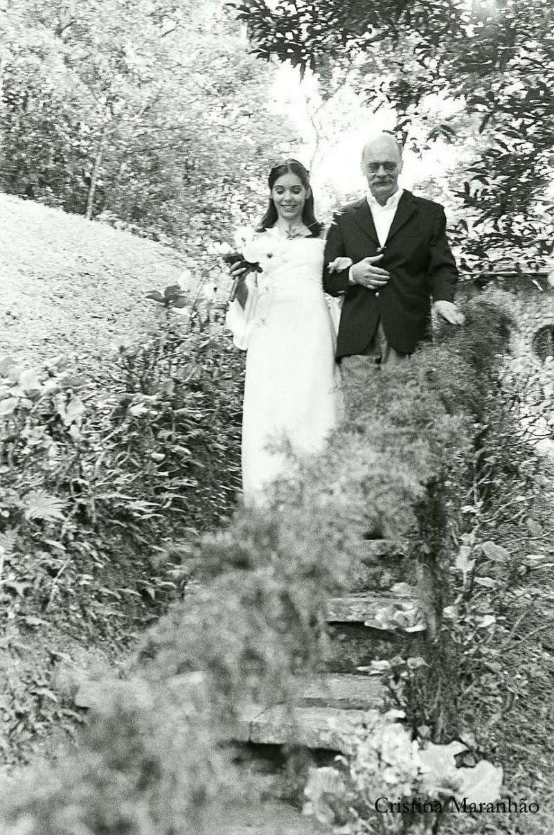 Nina e Sérgio - Teresópolis 2003