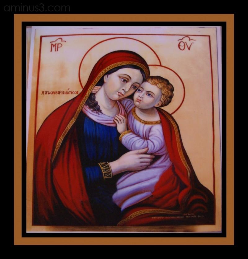 virgin mary jesus orthodox