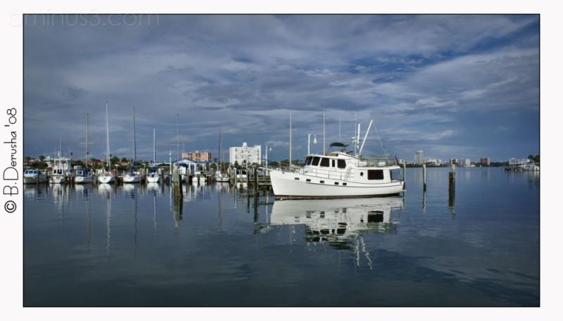 Trawler in Port