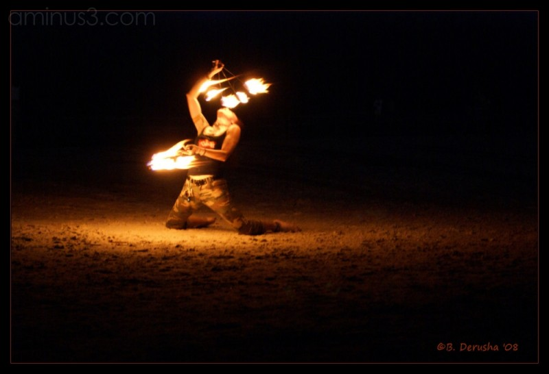 Fire Dance on the Beach I