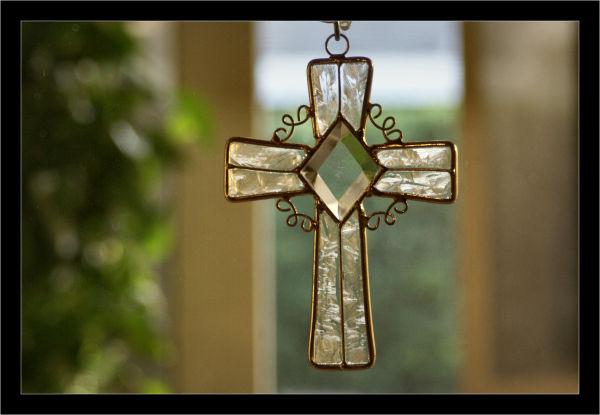 Cross in my window