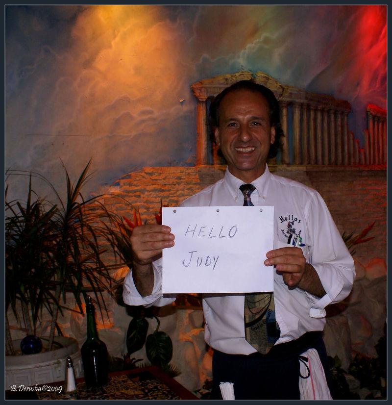 Noah, our favorite waiter!