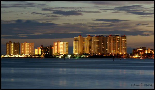 Sand Key at Night