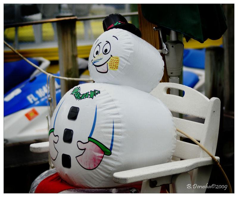 Florida Snowman