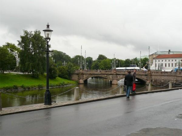 Rainy day in Gothenburg