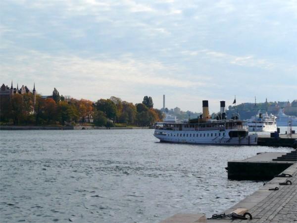 Ships in Stockholm