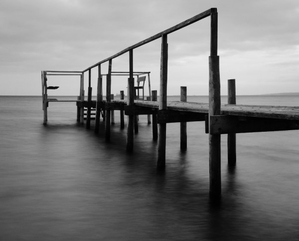 Abandoned Jetty in November