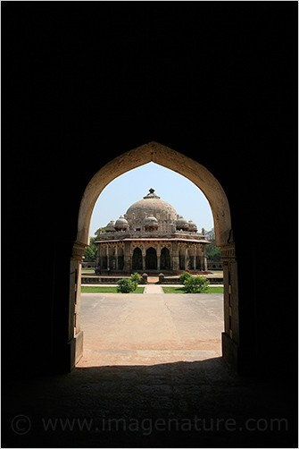 Indian shapes: through the arch