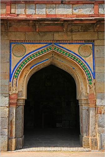Indian shapes: other side of the arch