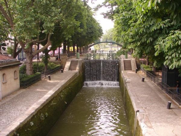ecluse, quai de Jemmapes - Paris