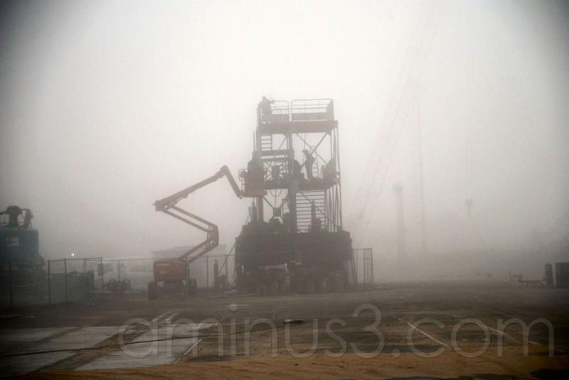 zombie sur le port de commerce de Brest