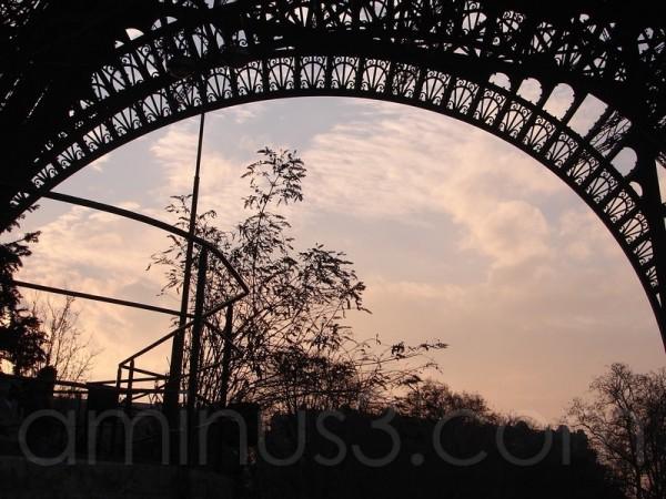 la Dame de Fer à Paris
