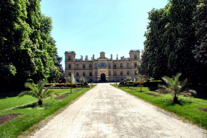 castle, france, chateau, seine et marne