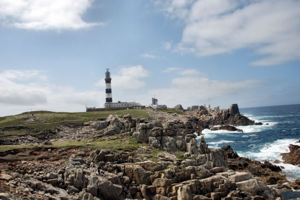 Phare, sea, Bretagne, france, finistere