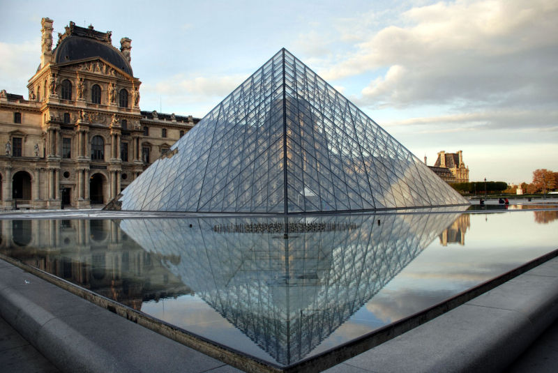 Paris, France, Louvre, Monument