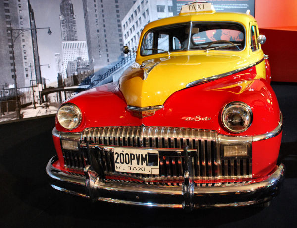 Taxi Cab De Soto Custom 1946
