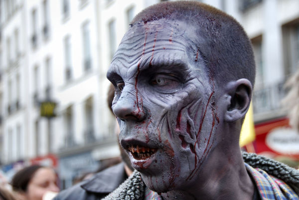 zombie walk,Paris