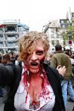 zombie walk,Paris