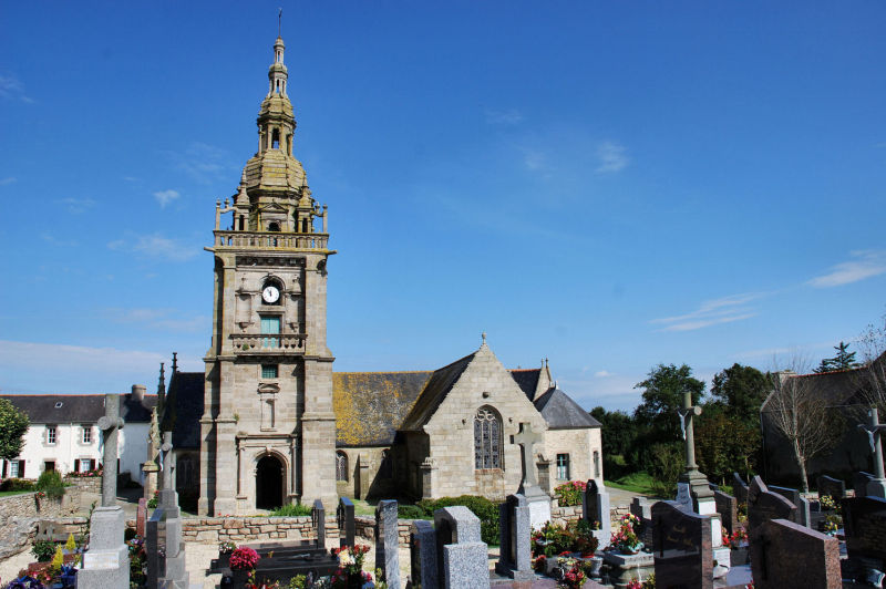 Finistere,église,France