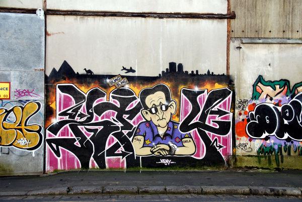 tag,peinture murale,bling bling