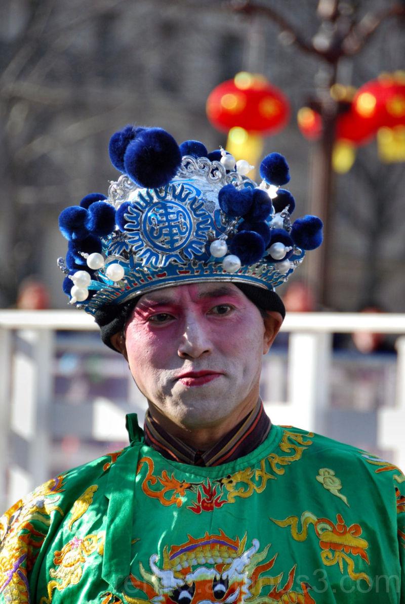 masque,Chinois,défilé,Paris,carnaval