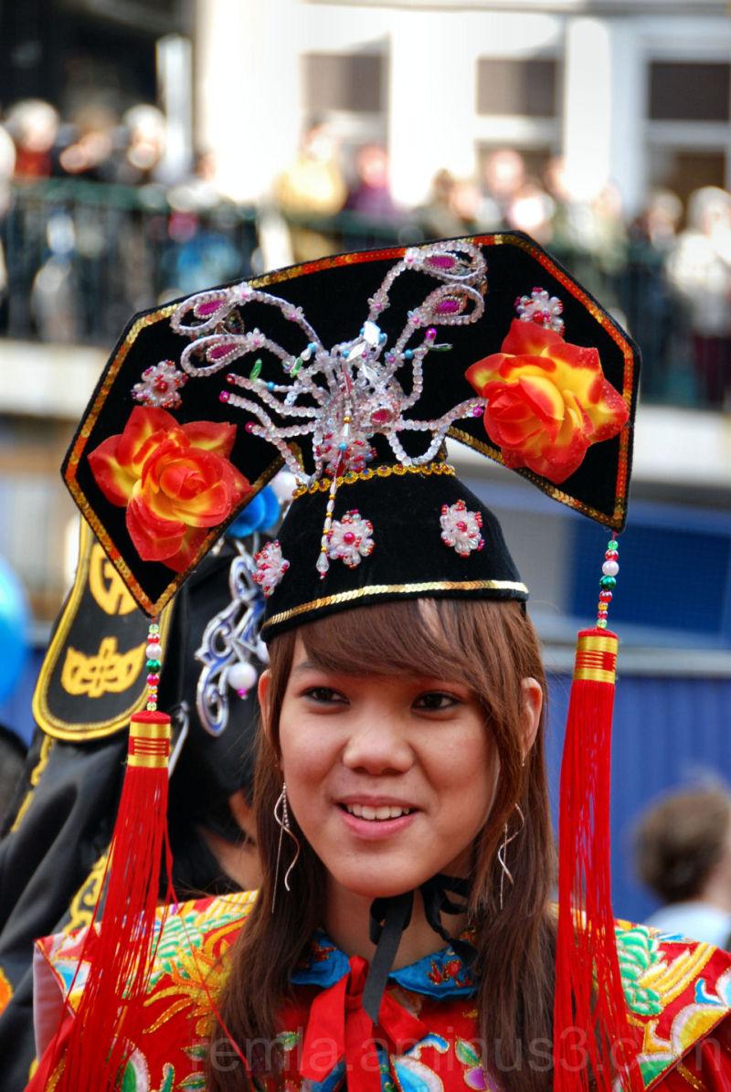 joli minoi,Chinois,défilé,Paris,carnaval