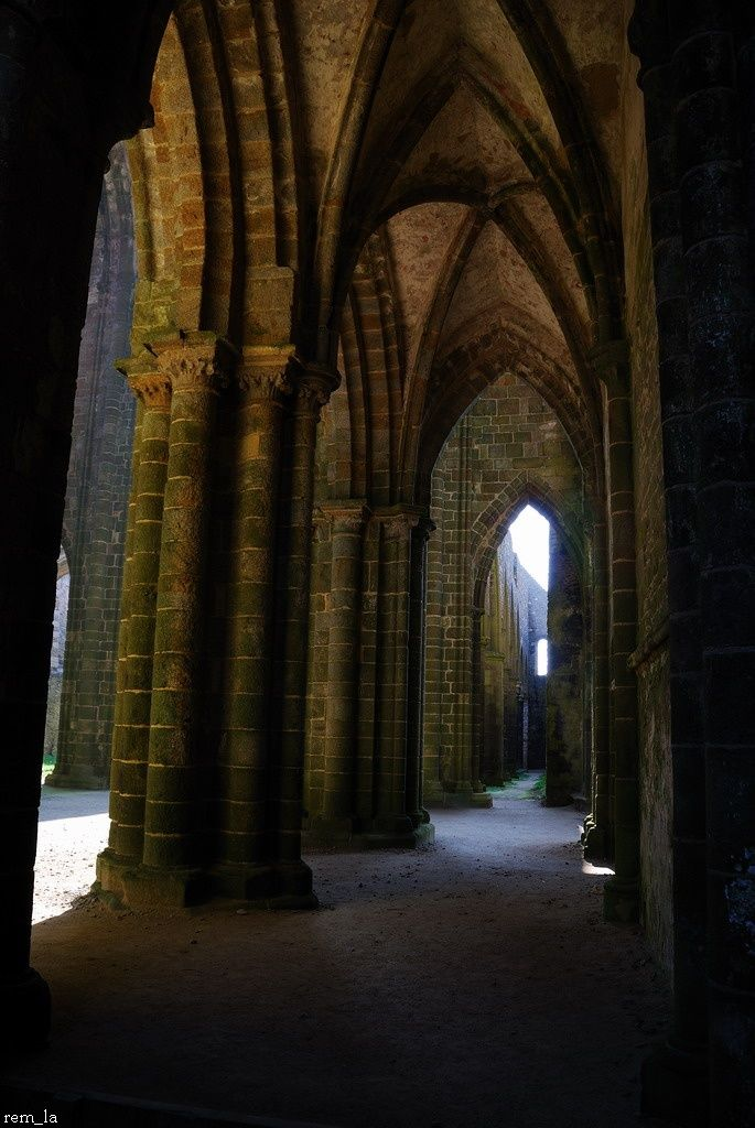 Bretagne,Abbaye,Finistere