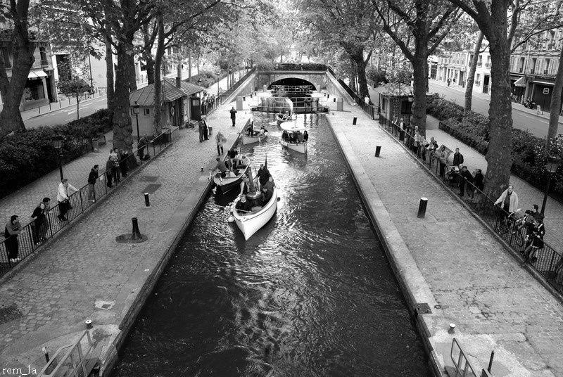 Paris,Bateau,Vapeur,Canal
