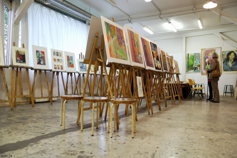 Atelier,Artiste,Paris