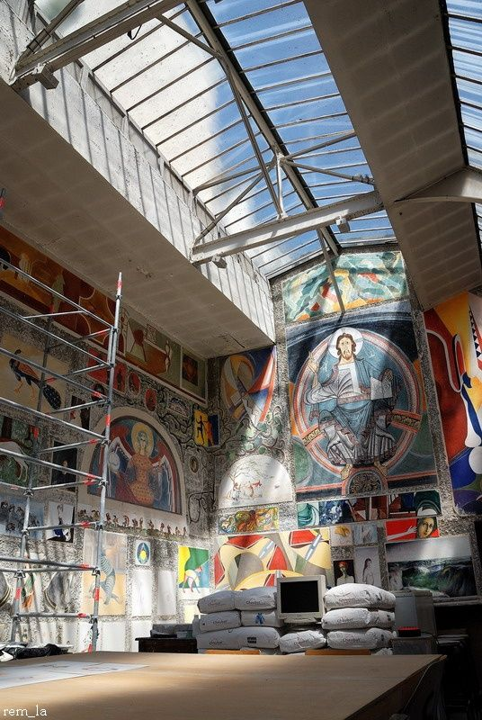 Ecole,Beaux-Arts,Paris,Tableau,fresque