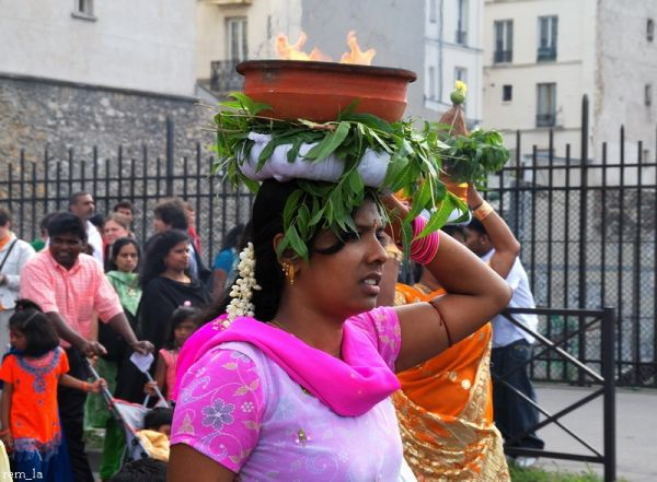 Ganesh,Fête,Paris,Costume,Religion