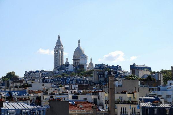 toit,Paris,sacré-coeur