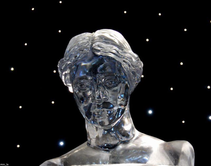 sculture,glace,champs-élysées,paris