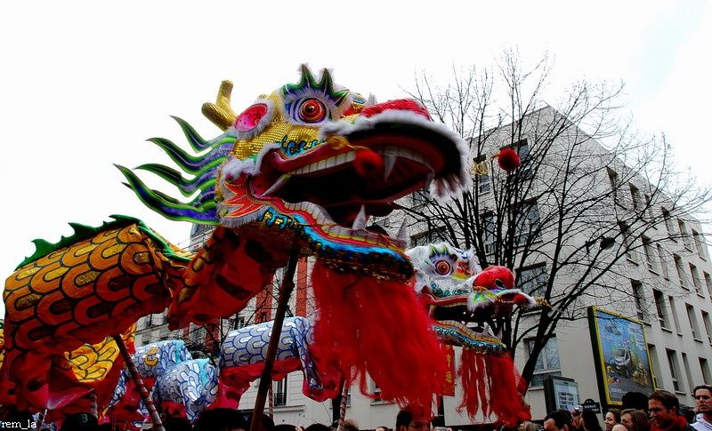 defile,chinois,masque,carnaval,paris