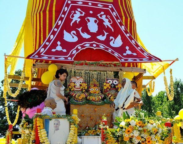 Festival Ratha Yatra à Paris