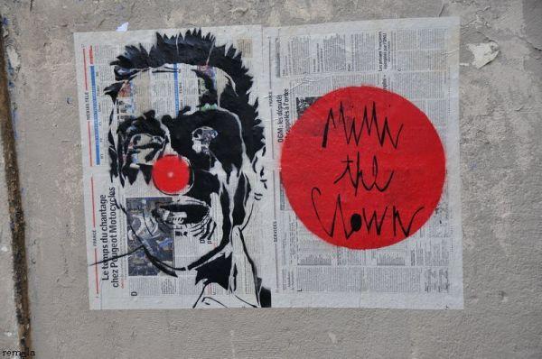 collage,mur,paris