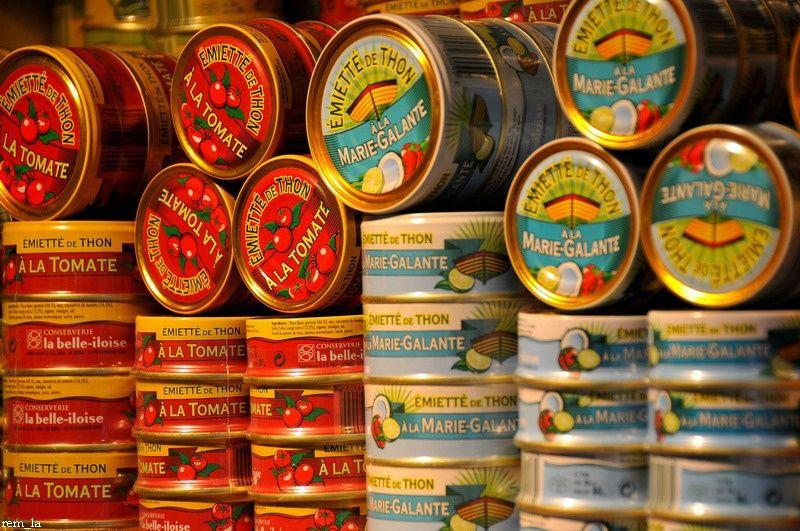 J'aime le thon............mais en boite uniquement