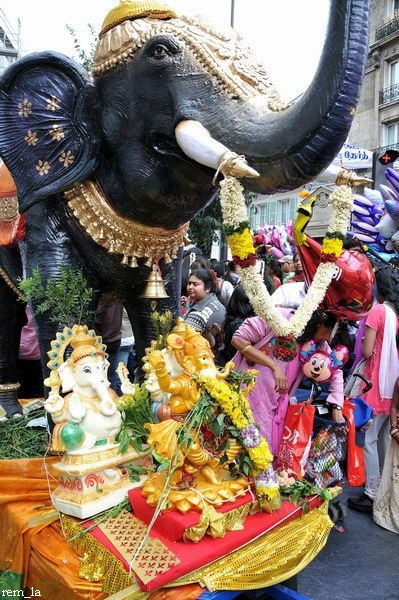 ganesh,fête,paris,religion