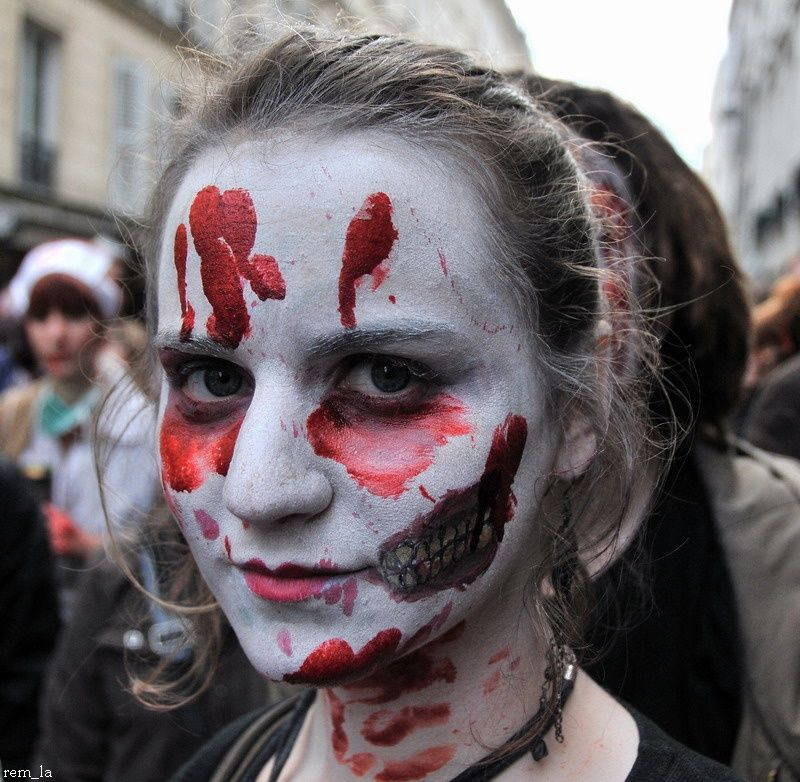 zombie,walk,portrait,paris