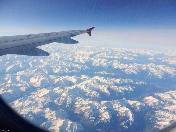 istanbul,turquie,avion,montagne,neige