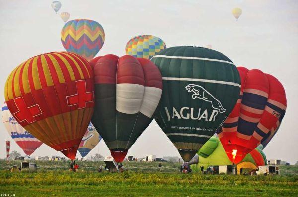 Lorraine Mondial Air Ballons 2011 à Chambley
