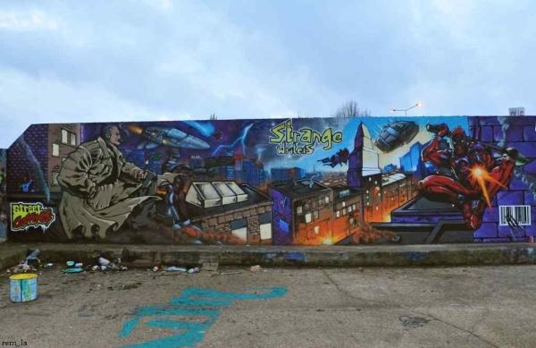 port,graffiti,mur,bonneuil