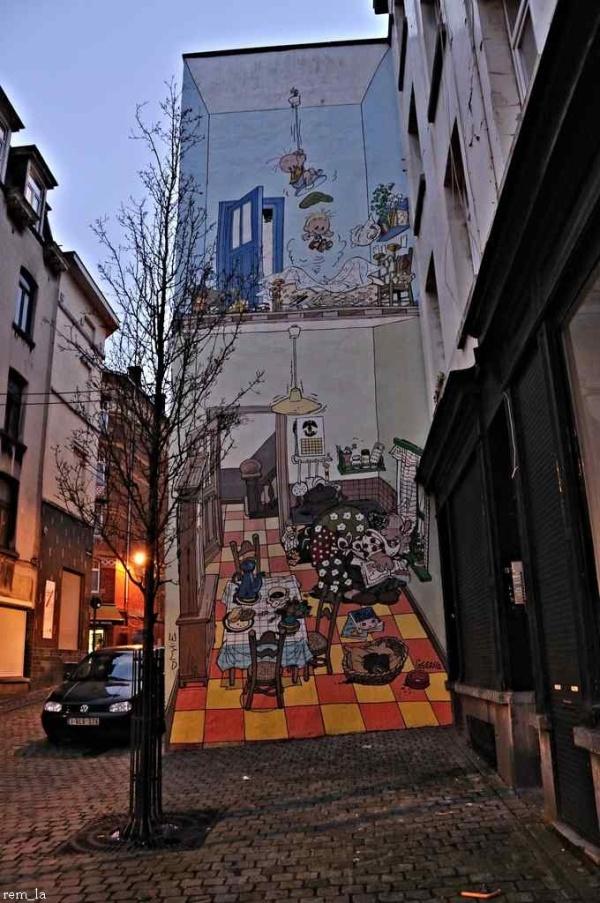Les Murs de Bruxelles   8