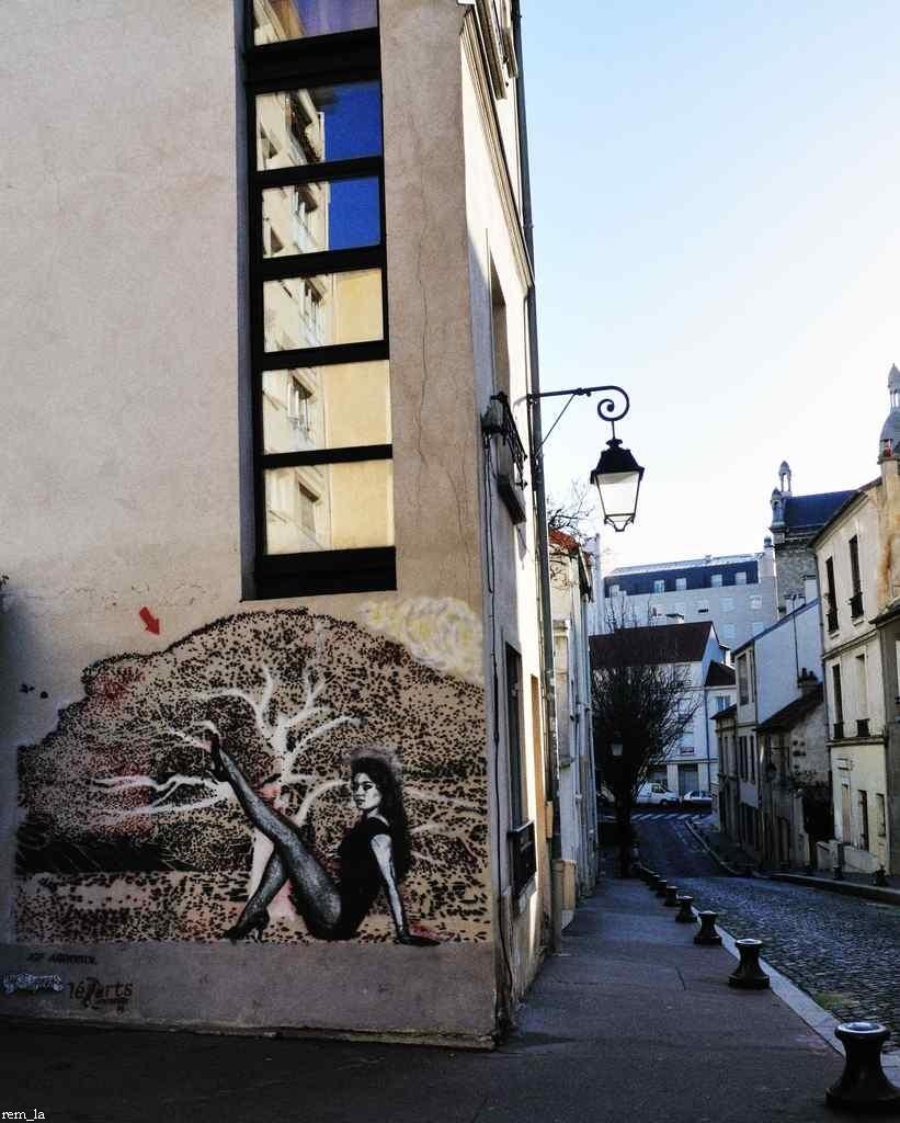 street,paris,collage
