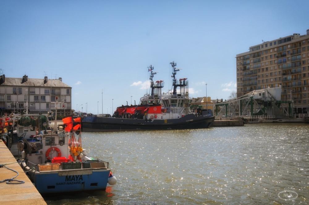 port,st nazaire,bateau,loire-atlantique