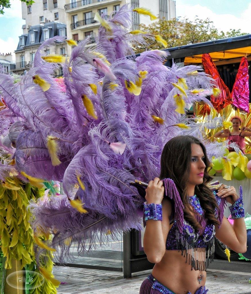 tropical,carnaval,portrait,paris